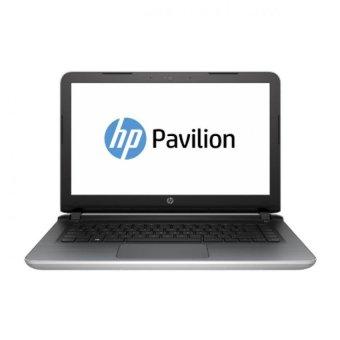 HP Pavilion 14-AB129TX Plus McAfee - Blizzard white