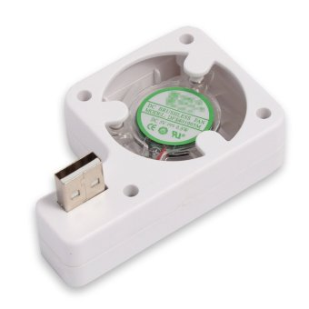 Mini USB Powered Cooling Fan System Cooler for Nintendo Wii U Console Video Game (Intl)