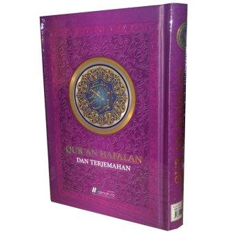 Almahira Quran Hafalan dan Terjemahan (Ungu)