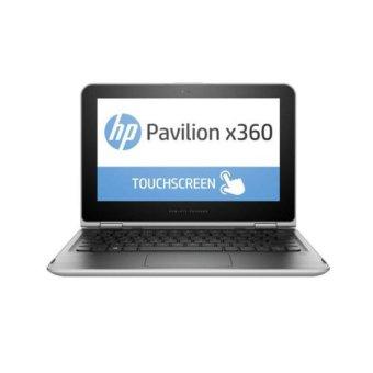 HP Pavilion X360 Convertible 11-K125TU - Windows 10 - Intel Celeron N3050 + McAfee - Silver