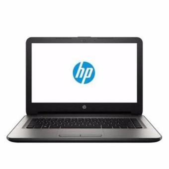 Jual HP 14-an002ax - RAM 4GB - QuadCore A8-7410 - RADEON R5 M430-2GB - 14 - Win10 - Silver(Silver)