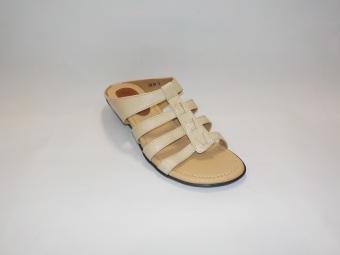 harga Surround Sandal Kulit Gladiator Wanita F6-839 - Cream Lazada.co.id
