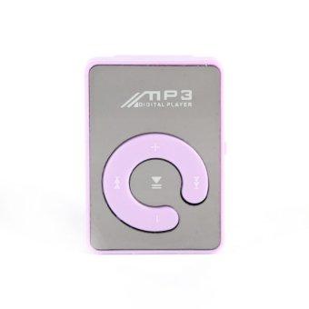 S & F 8GB USB Digital MP3 Music Player (Purple) - Intl