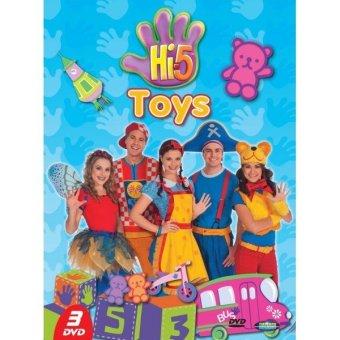 Emperor Edutainment DVD HI-5 Toys 3DVD