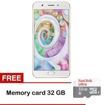 Oppo F1s Selfie Expert - 32 Gb - Rose Gold + Memory Sandisk 32GB Class 10