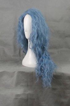 Cosplay Long Curly Wavy Hair (Blue)- Intl