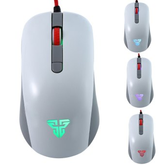 2400 DPI 4D Wired Computer Gaming Mouse with Backlight (White) (Intl)