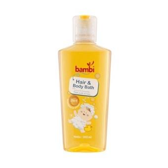harga Bambi Baby Hair & Body Bath 2in1 / Shampoo & Sabun Bayi Lazada.co.id