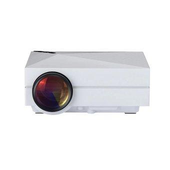 Mini LED Projector 800x480 Resolution Multimedia mini LED projector Portable Home Theater Projector (Intl)