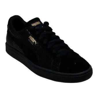 harga Puma Suede GOLD Women's Shoes - Puma Black Lazada.co.id