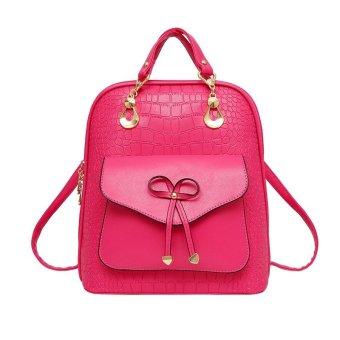 Vicria Tas Ransel Branded Wanita Limited Edition High Quality Pu Leather Korean Bag Style