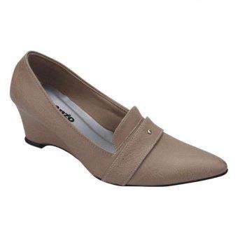 harga Aleganza Exclusive Premium Sepatu Formal High Heels Kerja Wanita - Cream Lazada.co.id