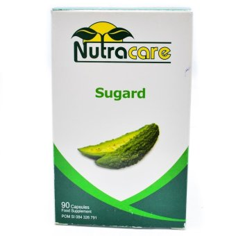 Herbal Obat Diabetes - Nutracare Sugard - 90 Kapsul