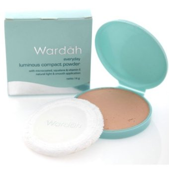 Wardah Luminous Compact Powder Ivory