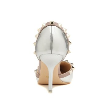 Women Fashion Breathable Anti Slide Heel Shoes (Intl)