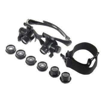 Spek Harga 10x 15x 20x 25x Led Glasses Jeweler Magnifier Watch Repair Magnifying Loupe Terbaru - Cek Ulasan Kekurangan Kelemahan Keunggulan Kelebihan ...