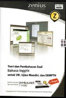Zenius Set CD SMA Bahasa Inggris