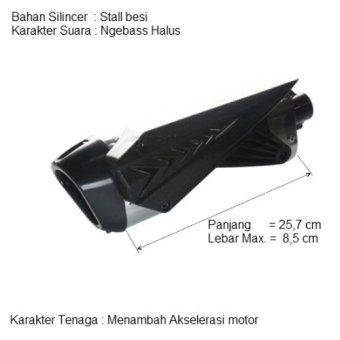 i-one - Knalpot Hogo Predator 2 Sound Cbr 150