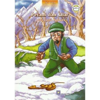 Dapin Edutama Buku Dongeng - Petani dan Ular