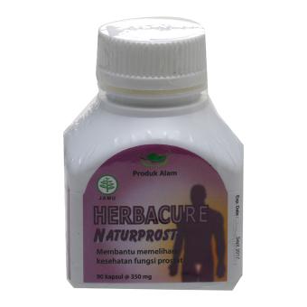 Herbacure Naturprost - Herbal Penyembuh Gangguan Prostat - 90 Kapsul