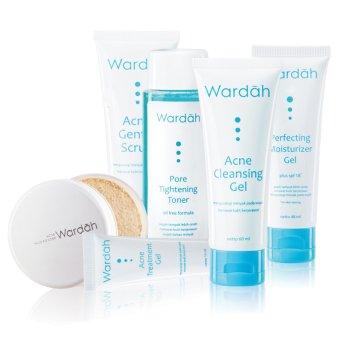 harga Wardah Paket Acne Series Lazada.co.id