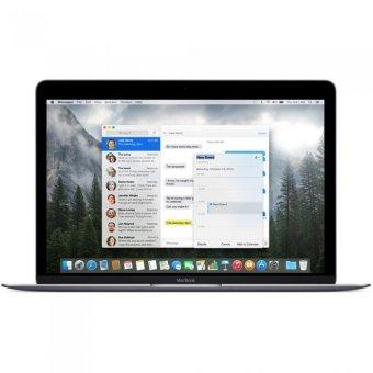 Apple Macbook 12'' 2016 Mlh72 Grey - RAM 8 GB - 1.1 Core M3 - 256 GB - 12