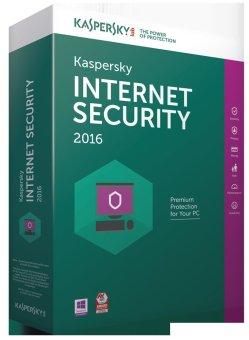 Kaspersky Internet Security - 1 User 2016 - Hijau