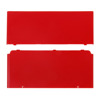 RIS Silicone Protective Case for New Nintendo 3DS Red (Intl)