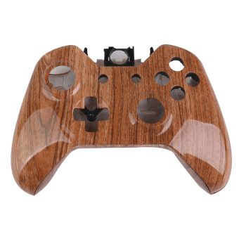 RIS Full Housing Shell Case Replacement Kits for Xbox One Controller Wood Grain (Intl)