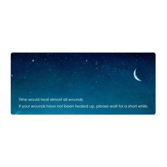 60*35*0.4cm Large Computer Gaming Mouse Mat Mousepad Easy Move (Intl)