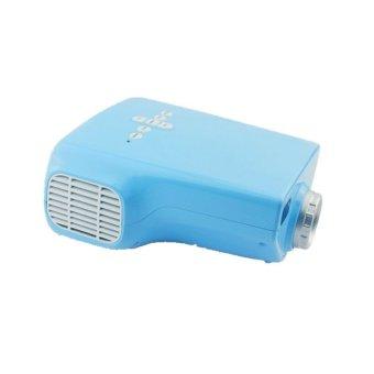 Mini Multimedia Home Projector Blue (Intl)