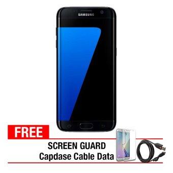 Samsung Galaxy S7 Edge - 32GB - Black + Gratis Anti Gores + Capdase Micro USB