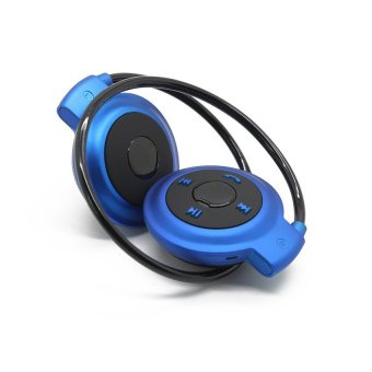 Mini 503 Bluetooth Stereo Sports Headset (Blue) (Intl)