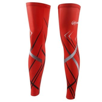 Cycling Unisex Summer Sun Protection UV Resistant Cycling Leg Sleeves - Intl