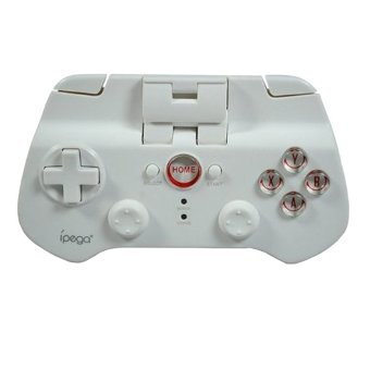 Ipega Mobile Wireless Gaming Controller Bluetooth 3.0 for Apple and Tablet PC - PG-9017s - White