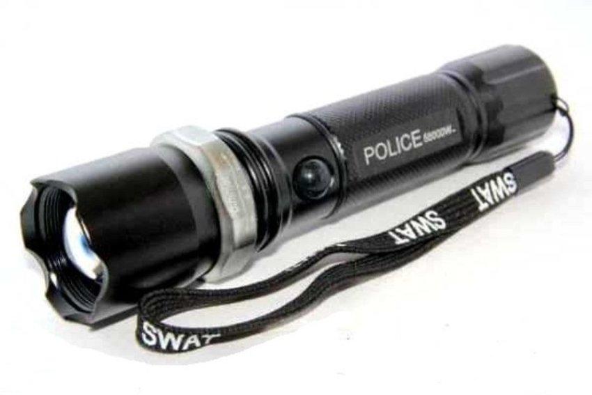 harga Halona - Senter Swat Police Bonus + Cardsharp Pisau Lipat + Breket sepeda - Hitam Lazada.co.id