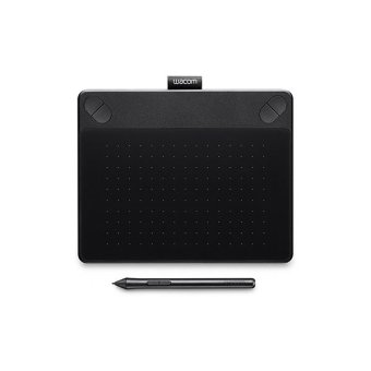 Wacom Pen & Touch Tablet Medium - Intuos Art - CTH-690/K0-CX - Hitam
