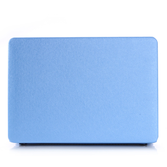 Laptop Shell Cover Computer Protector for Apple Macbook 13 Pro Blue - Intl
