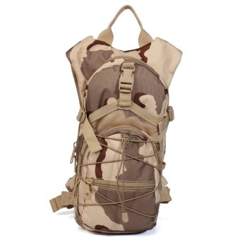 Outdoor Military Tactical Rucksack Backpack Hiking Sports Camping Trekking Bag Camouflage- Intl