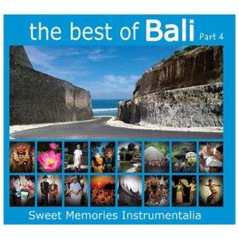 Maharani Record - The Best Of Bali Part 4 - Music CD