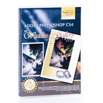 Tokoedukasi CD Tutorial Adobe Photoshop CS4 for Wedding by Simply Interactive