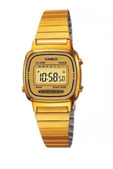 harga Casio Digital Watch LA670WGA-9DF - Jam Tangan Wanita - Gold - Stainless Steel Lazada.co.id