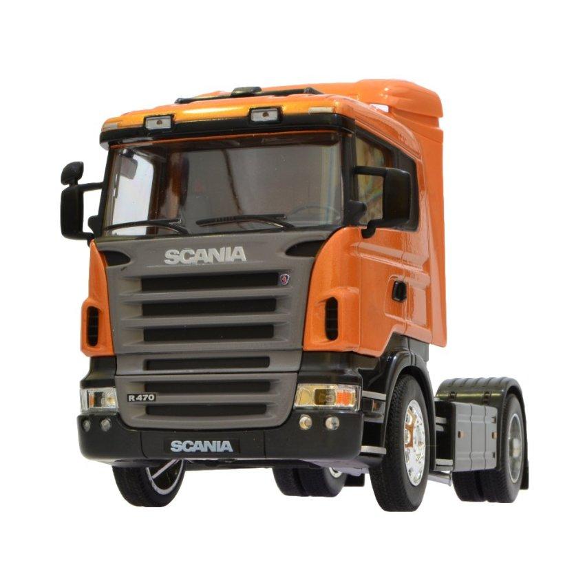 harga Welly Scania R470 Miniatur Truk Diecast 18 cm 1:32 Lazada.co.id