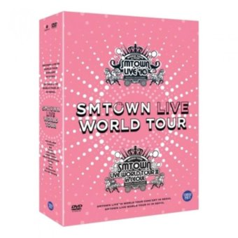 (Not Specified) SMTOWN Live world tour in Seoul DVD - Intl
