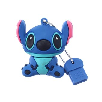 WHD Lilo & Stitch USB 2.0 Flash Drive 4GB (Blue)
