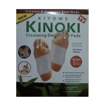 Kinoki Koyo Kaki Herbal Detox Foot Patch Putih - 1 Kotak