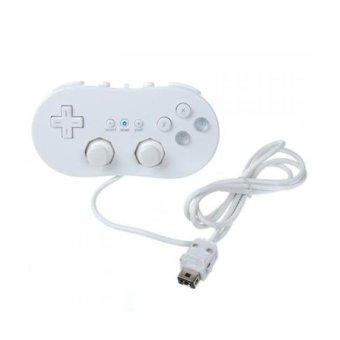 BolehDeals Classic Controller for Nintendo Wii Game Remote White