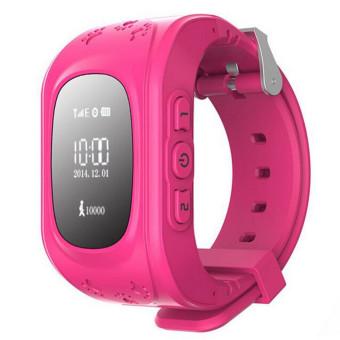 Kid Wrist GPS Tracker(Red) (Intl)