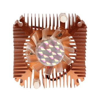 55mm Cooler Cooling Fan for CPU VGA Video Card Bronze Mini Professional