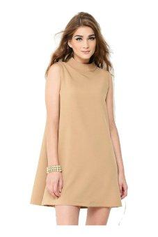 LABOU Alexander Dress Cokelat